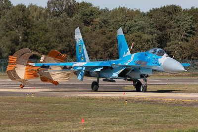 Ukrainian Air Force / Sukhoi Su-27P Flanker / 39