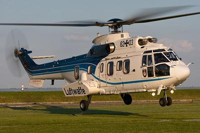 German Air Force / Eurocopter AS 532U2 Cougar / 82+03