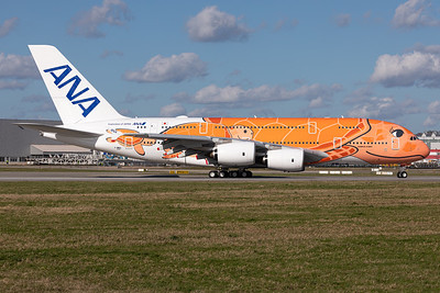 All Nippon Airways (ANA) / Airbus A380-800 / F-WWAL