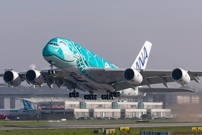 All Nippon Airways (ANA) / Airbus A380-800 / F-WWAF