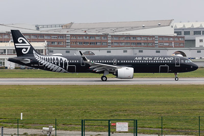 Air New Zealand / Airbus A321-271NX / ZK-NNA