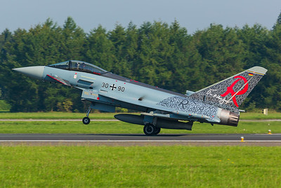 Germany - Air Force / Eurofighter Typhoon EF2000 / 30+90