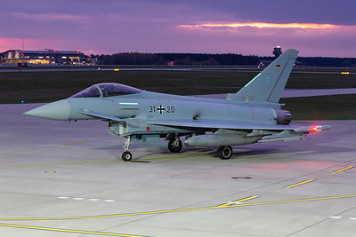 German Air Force  / Eurofighter Typhoon EF2000 / 31+20