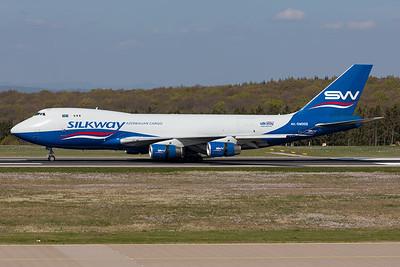 Silk Way West Airlines / Boeing 747-400F(SCD) / 4K-SW008