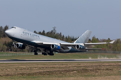 Sky Gates Airlines / Boeing 747-400ERF / VP-BCH