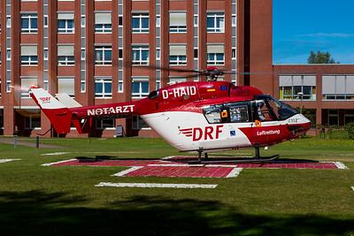 DRF Luftrettung / MBB BK117B2 / D-HAID