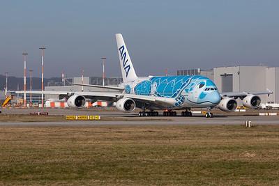 All Nippon Airways (ANA) / Airbus A380-800 / F-WWSH