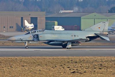 Germany - Air Force / McDonnell Douglas F-4F Phantom II / 38+10