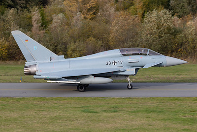 German Air Force  / Eurofighter Typhoon EF2000(T) / 30+17
