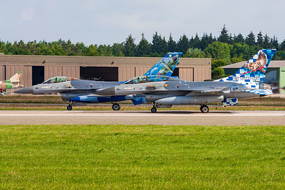 Belgium - Air Force / General Dynamics F-16BM Fighting Falcon / FB-24 and FA-110 /