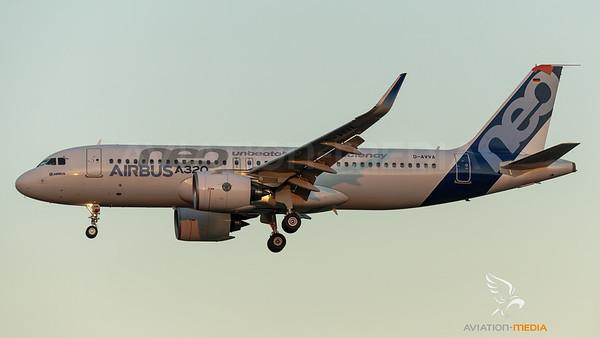 Airbus Industries / Airbus A320-271N / D-AVVA