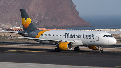 Thomas Cook Belgium / Airbus A320-212 / OO-TCV