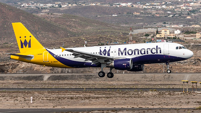 Monarch / Airbus A320-214 / G-ZBAU