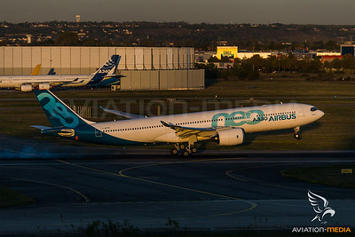 First Airbus A330neo (Toulouse)