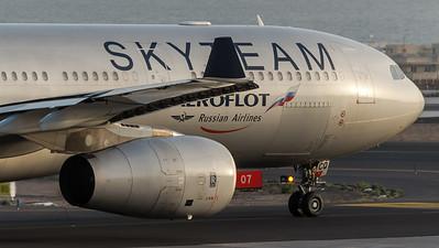 Aeroflot / Airbus A330-343X / VQ-BCQ / Skyteam Livery