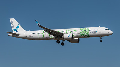 Azores / Airbus A321-253N / CS-TSF / Breathe Livery