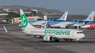 Transavia / Boeing B737-8K2 / PH-HSA