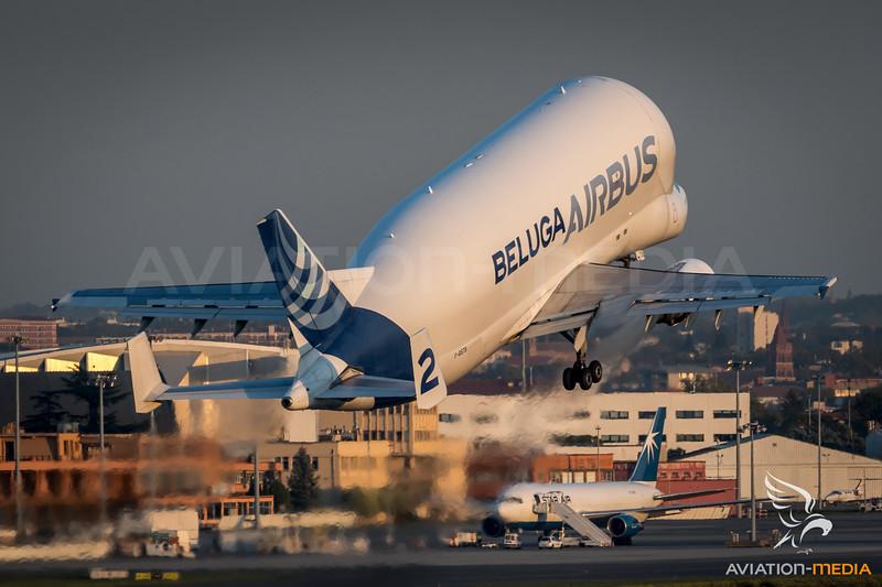Airbus Transport International / Airbus A300B4-608ST / F-GSTB