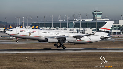 Egypt Government Airbus A340-200 SU-GGG @ MUC (Munich)