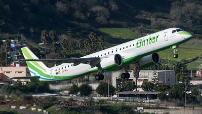 Binter Canarias / Binter Canarias / Embraer E195-E2 / EC-NEZ
