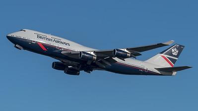 British Airways / Boeing B747-436 / G-BNLY