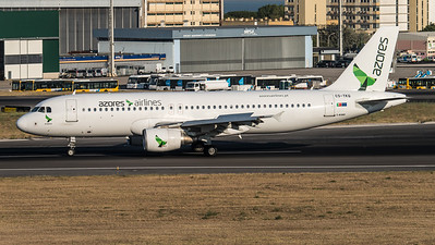 Azores / Airbus A320-214 / CS-TKQ