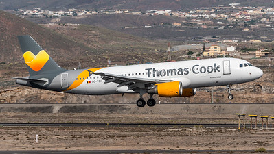 Thomas Cook Belgium / Airbus A320-212 / OO-TCH