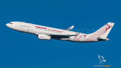 A330 Tunisair banking @ MUC (Munich)