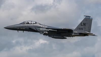 US Air Force 492 FS / Boeing F-15E Strike Eagle / 91-0605 LN