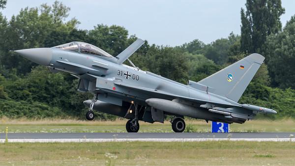 Luftwaffe TaktLwG 74 / Eurofighter / 31+00