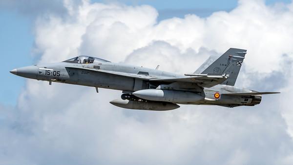 Ejército del Aire Ala 15 / McDonnell Douglas EF-18A Hornet / 15-05 C.15-18
