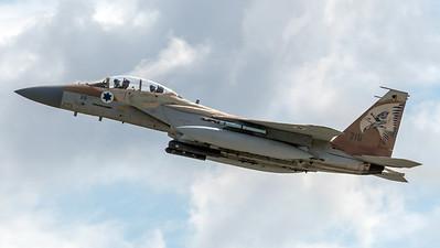 Israeli Air Force 69 Squadron / Boeing F-15I Raam / 215