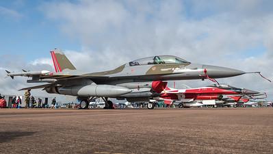 Royal Norwegian Air Force / General Dynamics F-16BM Fighting Falcon / 691 / 75th Anniversary Livery