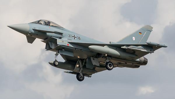 German Air Force TLG-31 / Eurofighter Typhoon / 31+16
