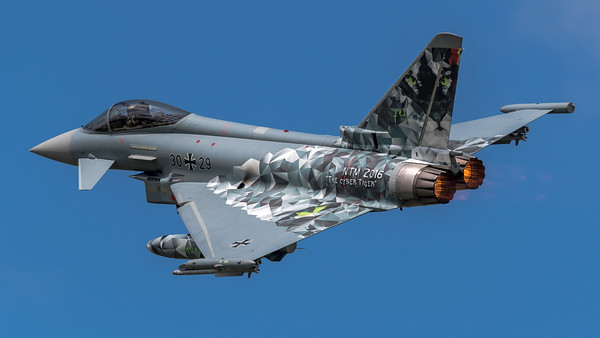 German Air Force TLG74 / Eurofighter Typhoon / 30+29 / Cyber Tiger