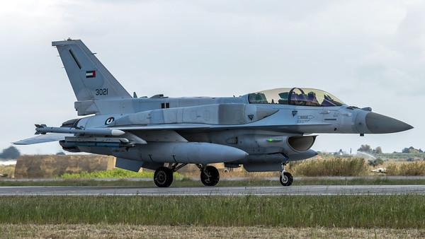 UAE Air Force Shaheen / Lockheed Martin F-16F Fighting Falcon / 3021