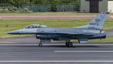 US Air Force 480FS / Lockheed Martin F-16CJ Fighting Falcon / 96-0080