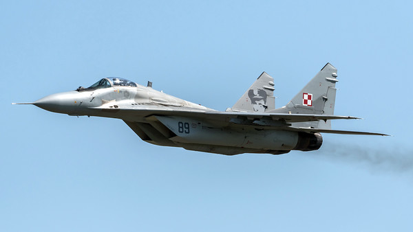 Polish Air Force 23 BLT / Mikoyan MiG-29A / 89