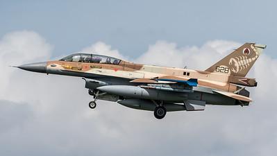 Israeli Air Force 105 Squadron / Lockheed Martin F-16D Block 40 / 628