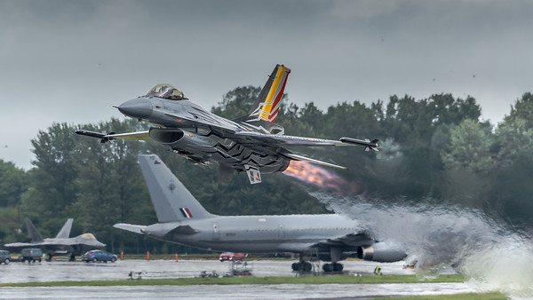 Belgian Air Force F-16 Display Team / Lockeed Martin F-16AM / FA-123 / Gizmo