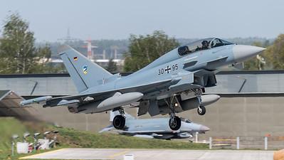 German Air Force TLG74 / Eurofighter Typhoon / 30+95