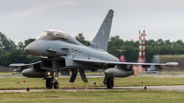Luftwaffe TaktLwG 73 / Eurofighter Trainer / 30+24