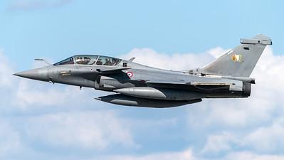 French Air Force EC 2/4 / Dassault Rafale B / 351 4-FR