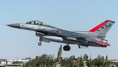 Turkish Air Force 132 Filo / Lockheed Martin F-16C Block 50 / 93-0687 / Anatolian Eagle Aggressor Livery