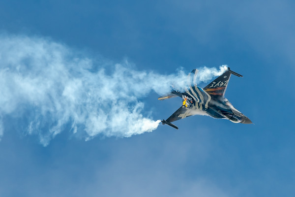 HAF 340 Mira / Lockheed Martin F-16C-52 Fighting Falcon / 523