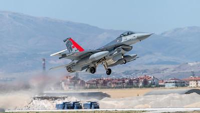 Turkish Air Force 132 Filo / Lockheed Martin F-16C Block 50 / 94-0091 / Anatolian Eagle Aggressor Livery