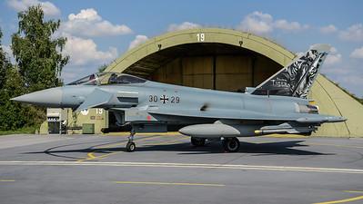 German Air Force TLG74 / Eurofighter Typhoon / 30+29 / Bavarian Tigers