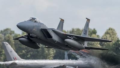 USAF 493 FS / Boeing F-15C Eagle / 86-0176 LN