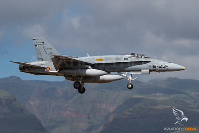 Ala 15 F/A-18 Hornet 23 (Gran Canaria)