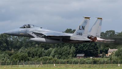 US Air Force 493 FS / Boeing F-15C Eagle / 86-0165 LN